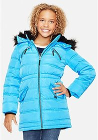 Justice Justice Snow Gear Long Girls Puffer Coat