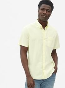 Lived-In Stretch Oxford Short Sleeve Shirt