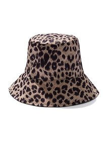 Leopard-Print Bucket Hat - New York & Company