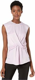 Kenneth Cole New York Drape Front Top