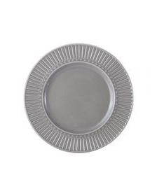 Mikasa Fluted Grey Salad Plate
