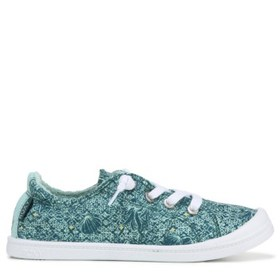 roxy Kids' Bayshore Disney Slip On Sneaker Pre/Gra