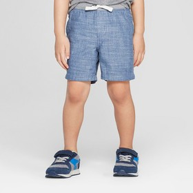 Toddler Boys' Chambray Pull-On Shorts - Cat & Jack