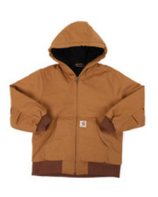Carhartt active jacket flannel quilt lined (8-20)