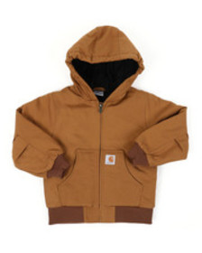 Carhartt active jacket flannel quilt lined (4-7)