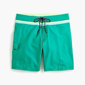 J. Crew Greenlines® board short in eco stretch
