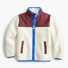 J. Crew Kids' sherpa jacket