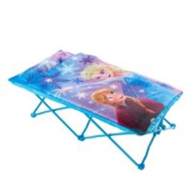 Disney Frozen Portable Folding Bed Toddler Cot wit
