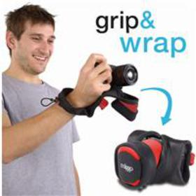Miggo Grip and Wrap Mirrorless (CSC) - Red / Black
