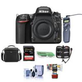 Nikon D750 DSLR Body and Free Mac Accessory Bundle