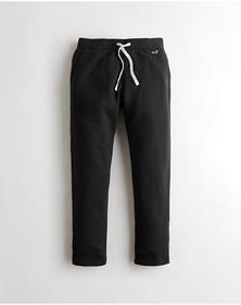 Hollister Lightweight Straight-Leg Sweatpants, BLA