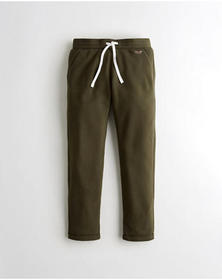 Hollister Straight-Leg Sweatpants, OLIVE
