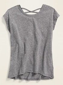 Printed Strappy-Back Tunic for Girls