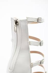 Forever21 Faux Patent Leather Strappy Heels