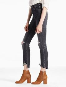 Lucky Brand High Rise Tomboy Cropped Straight Leg