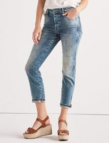 Lucky Brand High Rise Tomboy Jean In Isla Vista