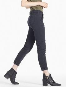 Lucky Brand Mid Rise Cropped Utility Cargo Jean In