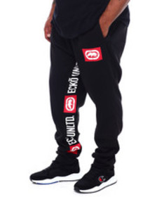 Ecko printed tape jogger (b&t)
