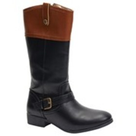 NINE WEST Girls Two-Tone Riding Boots