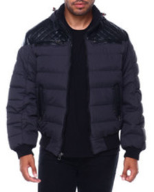 Buyers Picks mojo hooded quilted yoke jacket