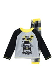 Komar Batman Pajamas 2-Piece Set (Toddler Boys)