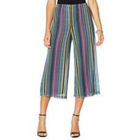 Slinky® Brand Lined Crochet Gaucho Pant