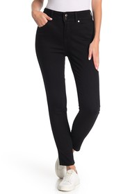 Seven7 High Rise Double Button Skinny Jeans