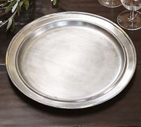 Pottery Barn Cavo Charger