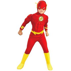 DC Comics The Flash Muscle Chest Deluxe Kids' Cost
