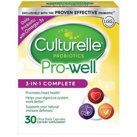 Culturelle Pro-Well 3-in-1 Probiotic Complete Form