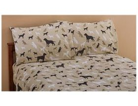White River™ Best Friends Flannel Sheet Set