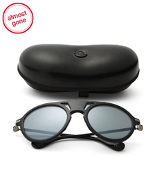 MONCLER Made In Italy Aviator Designer Sunglasses