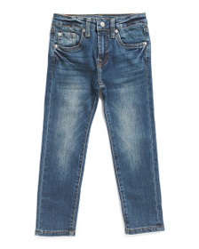 7 FOR ALL MANKIND Little Boys Slimmy Fit Denim Pan