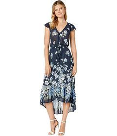 Lucky Brand Floral Printed Felice Dress