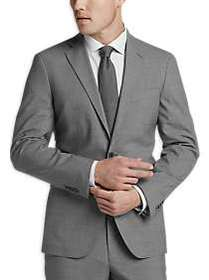 Cole Haan Grand.ØS Gray Coolmax Lined Slim Fit Sui