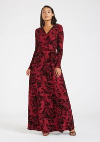 Tall Anna Wrap Maxi Dress