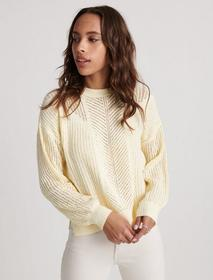 Lucky Brand Open Stitch Pullover