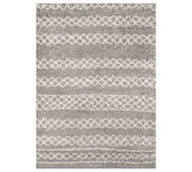 Pottery Barn Birch Recycled Material Rug - Gray