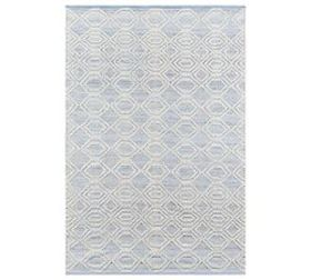 Pottery Barn Theros Recycled Material Rug - Light