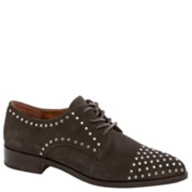 FRYE Frye Erica Womens Studded Leather Oxfords