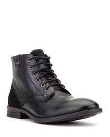 Vintage Foundry Men's Zion Mixed Leather Combat Bo