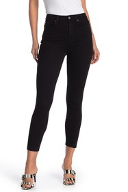 7 For All Mankind Aubrey High Waist Straight Leg J