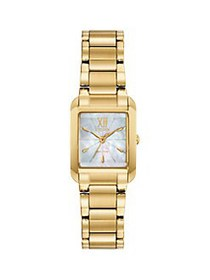Citizen Bianca Goldtone Stainless Steel & Mother-O