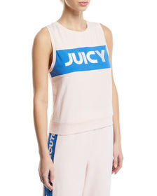 Juicy Couture Bold Colorblock Logo Tank