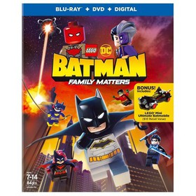 Lego Dc: Batman: Family Matters (Blu-Ray + DVD + D