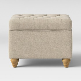 Frankford Tufted Storage Ottoman - Threshold™