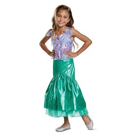 Toddler Girls' Disney Princess Ariel Deluxe Hallow