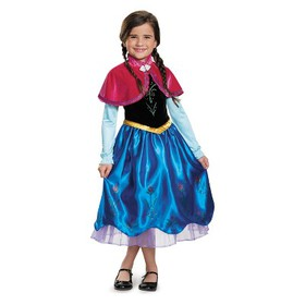 Toddler Girls' Disney Princess Anna Deluxe Hallowe