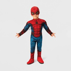 Toddler Boys' Marvel Spider-Man Muscle Halloween C