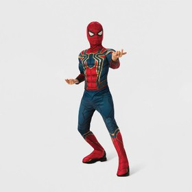 Boys' Marvel Spider-Man Muscle Chest Halloween Cos